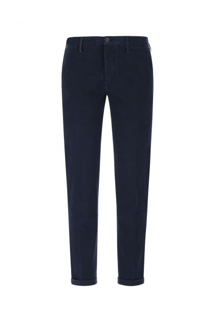 Navy blue stretch cotton Mucha pant