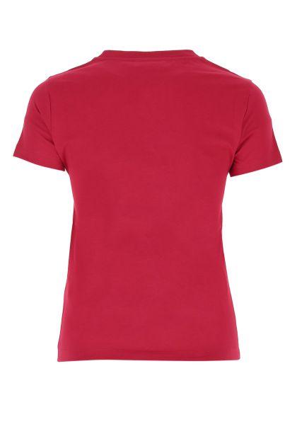 Tyrian purple cotton t-shirt