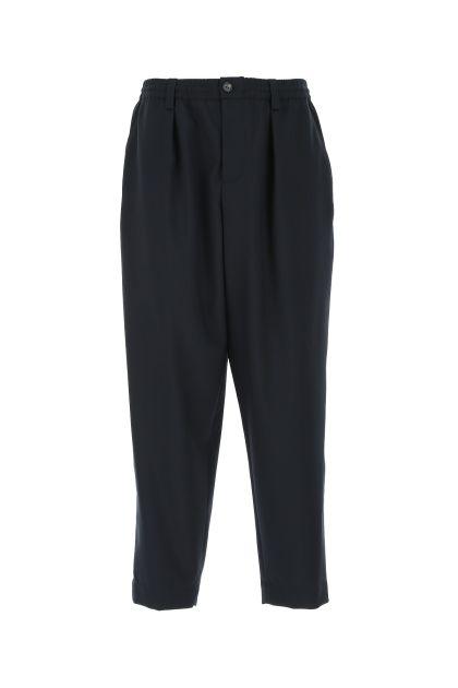 Dark blue wool pant