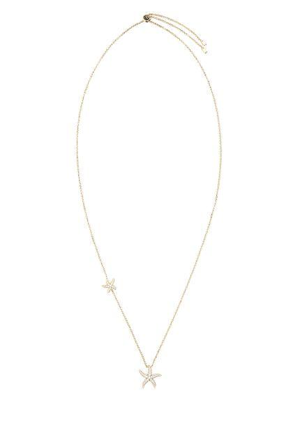 925 silver Seastars necklace