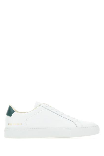 White leather Retro sneakers