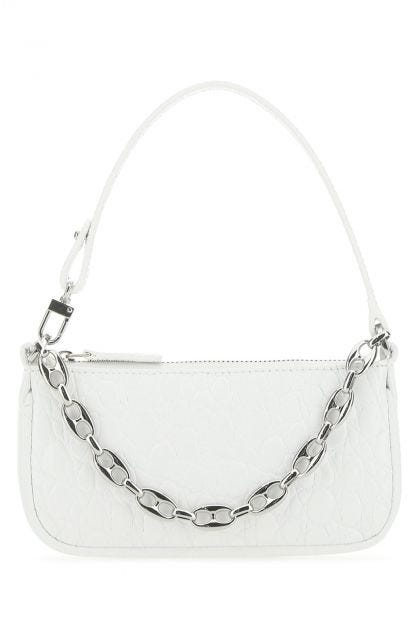 White leather mini Rachel handbag