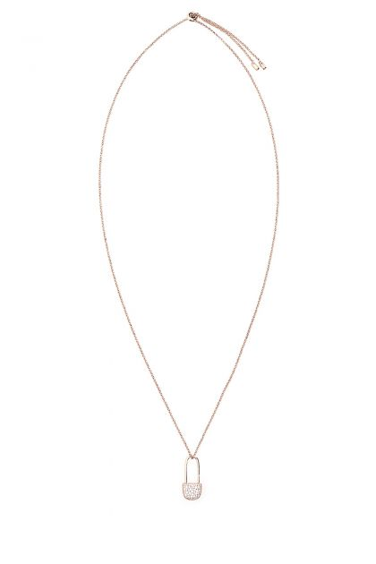 925 silver Safety Pin necklace