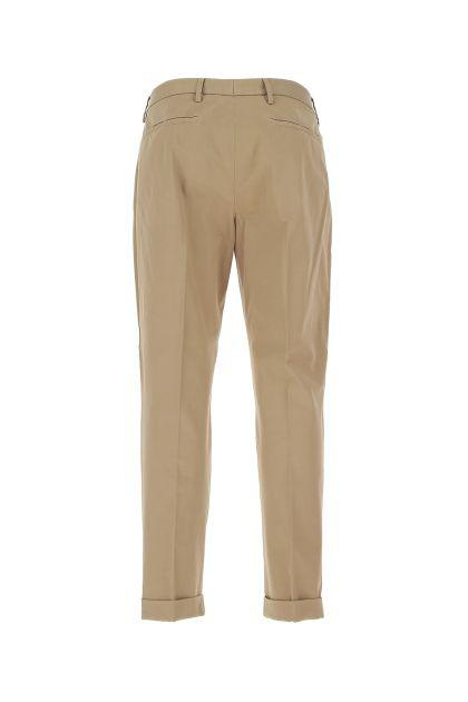 Cappuccino stretch cotton blend pant