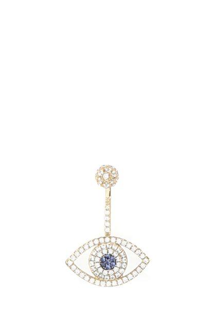 925 silver Lucky Eye earring