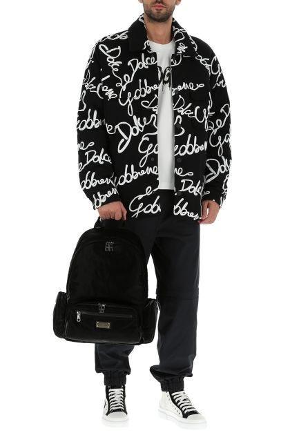 Black nylon Sicilia Dna backpack
