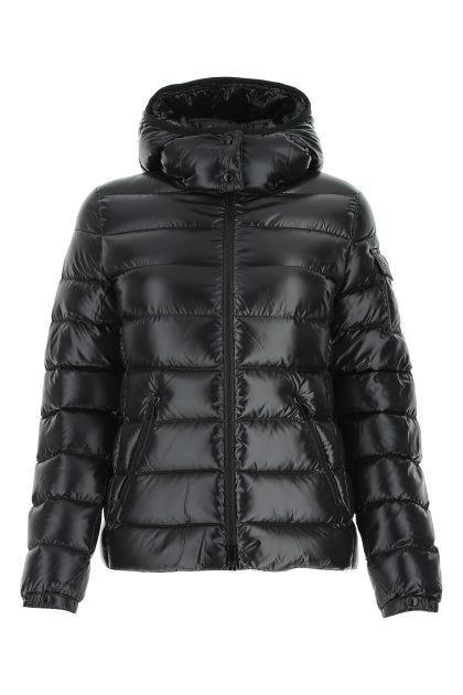 Black nylon Bady down jacket
