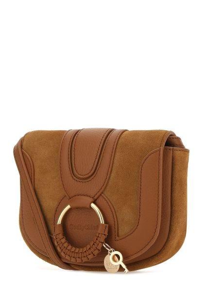 Caramel leather Hana crossbody bag