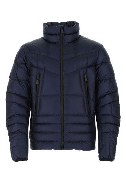 Midnight blue nylon Canmore down jacket