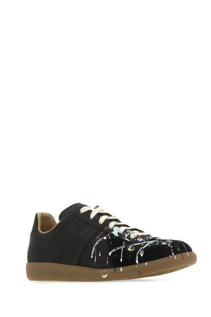 Black nubuck Replica sneakers