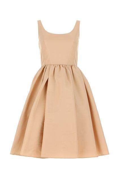 Powder pink polyester dress