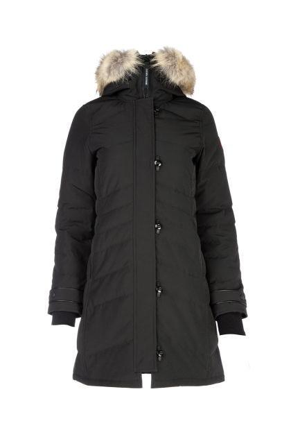 Black polyester blend Lorette Down jacket