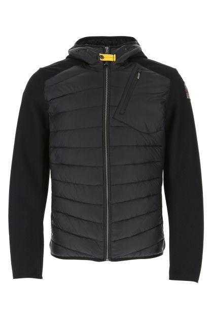 Black nylon Nolan down jacket