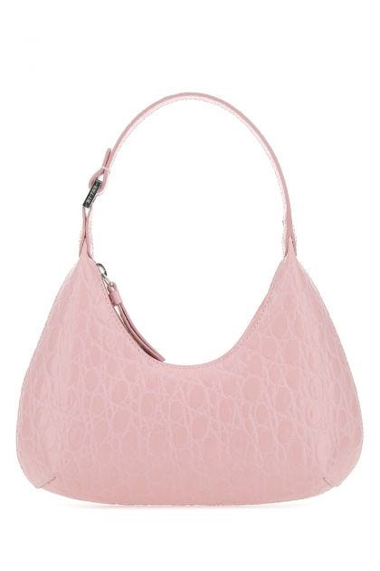 Pink leather baby Amber handbag