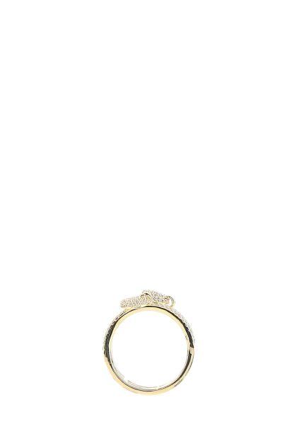 925 silver Coin Trio ring