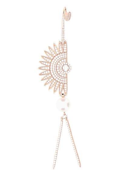 925 silver Dark Sun earring
