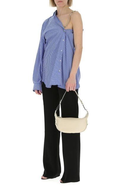 Black leather Ami shoulder bag