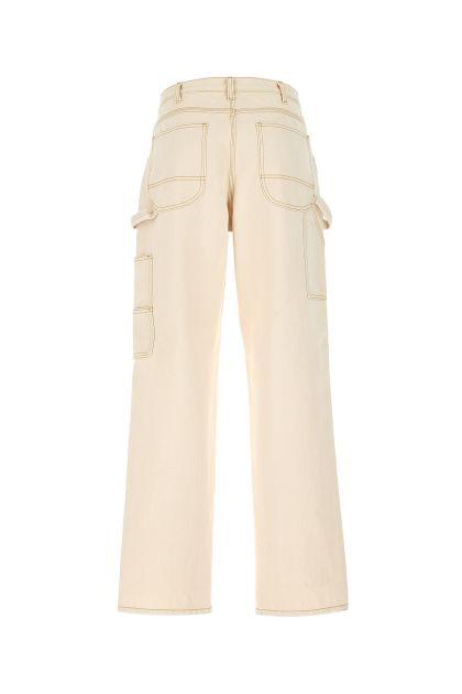 Ivory denim jeans