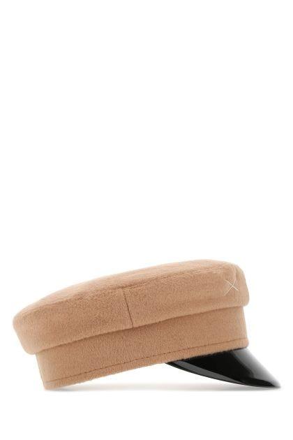 Biscuit wool hat