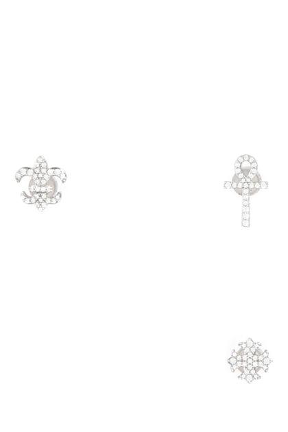 925 silver Symbole earrings set