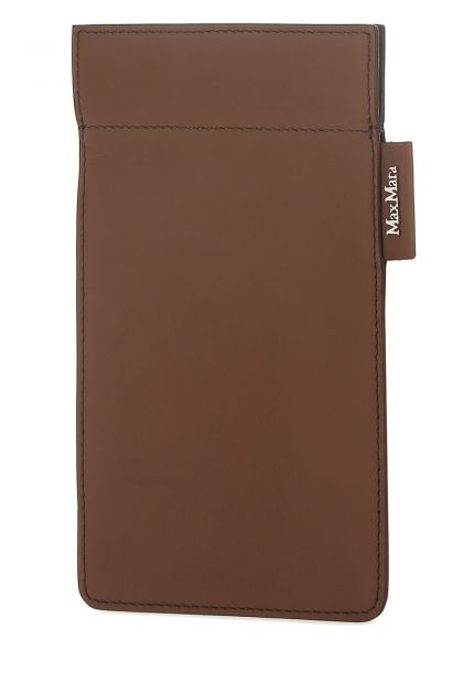 Brown leather Ulrico phone holder