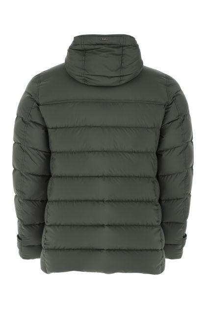 Sage green nylon Il Montgomery down jacket