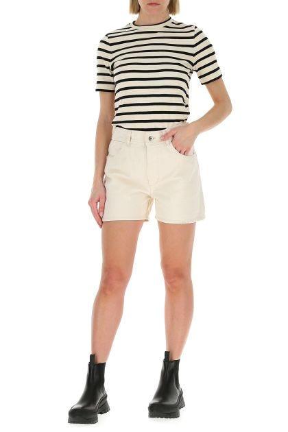Sand cotton shorts