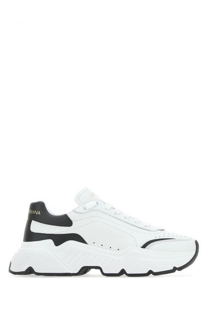 White nappa leather Daymaster sneakers