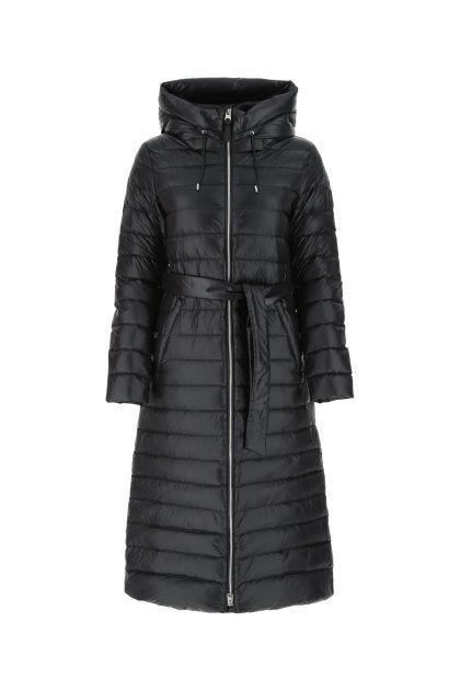 Black nylon Portia down jacket
