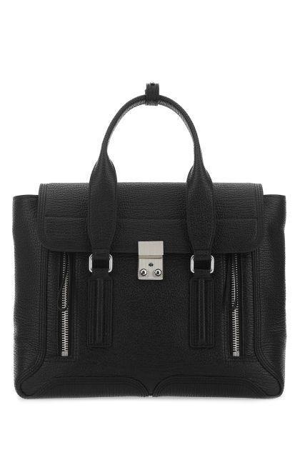 Black leather medium Pashli handbag