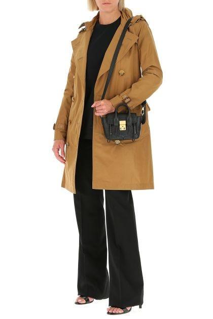 Black leather mini Pashli Satchel handbag