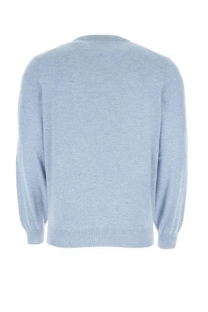 Powder blue cashmere sweater