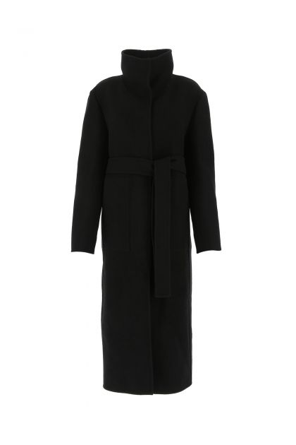 Slate wool coat