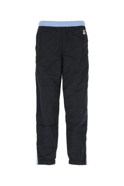 Two-tone nylon pant