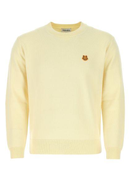 Pastel yellow wool sweater