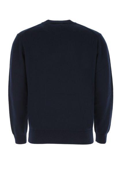 Blue wool sweater
