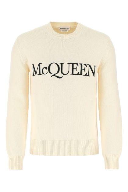 Ivory cotton sweater