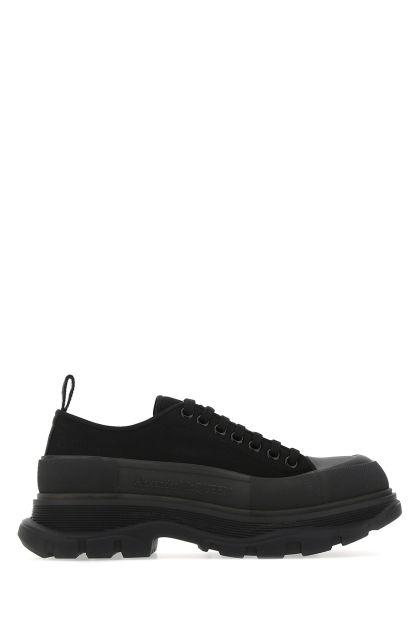 Black canvas Tread Slick sneakers