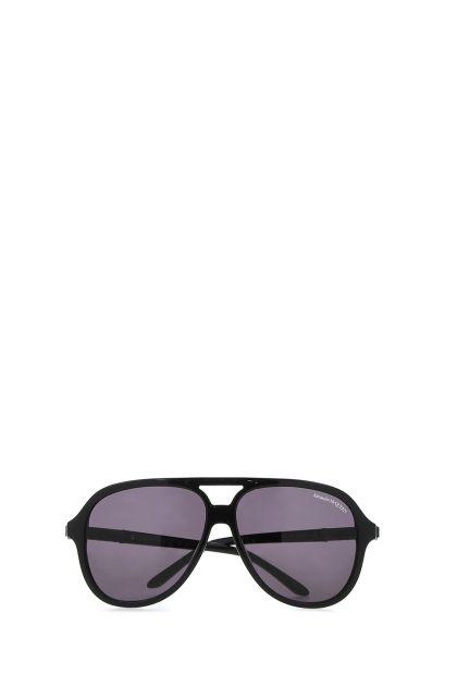 Black acetate sunglasses