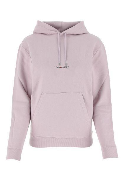 Lilac cotton sweatshirt