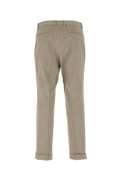 Dove grey stretch cotton pant