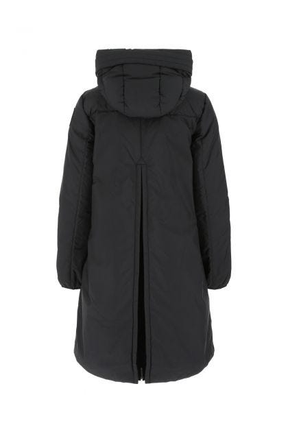 Black polyester blend Tracie down jacket