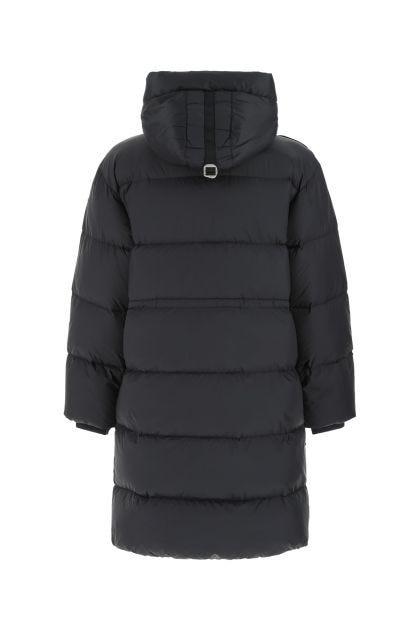Black nylon blend Eira down jacket