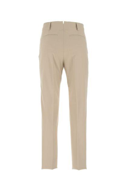 Sand stretch polyester blend pant