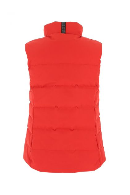 Red polyester blend Freestyle Down jacket