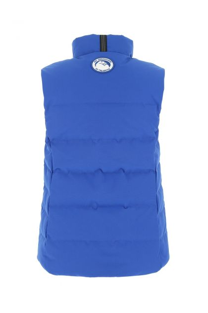 Blue polyester blend Freestyle Down jacket