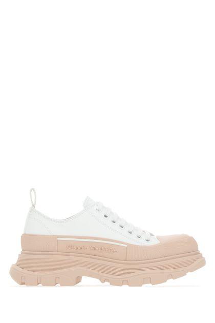 White leather Tread Slick sneakers