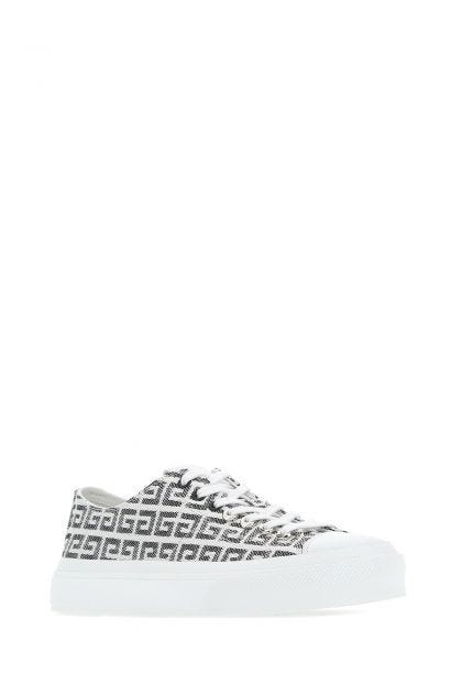 Embroidered polyester City sneakers