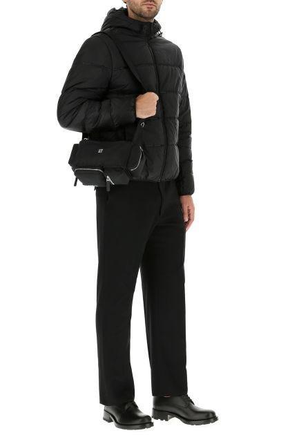 Black nylon Pandora Bumbag belt bag
