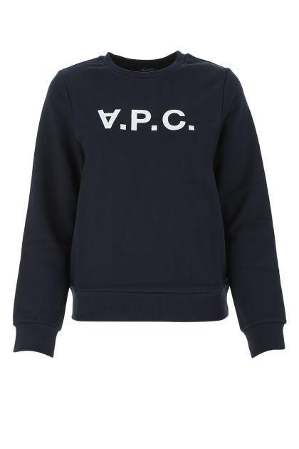 Midnight blue cotton sweatshirt